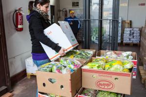 consegna banco alimentari